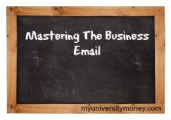 Getting Your Email Skills Ready for the Business World