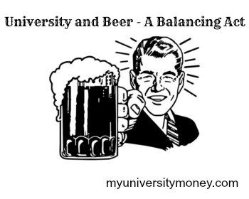 university and beer
