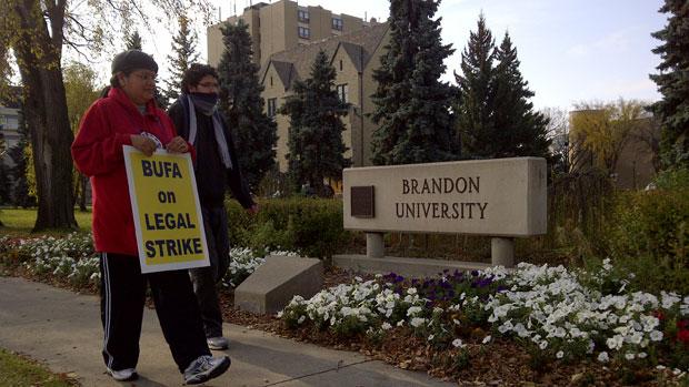 Brandon University Strike