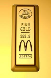 mcdonalds gold