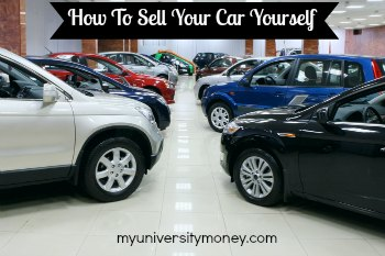how to sell your car yourself