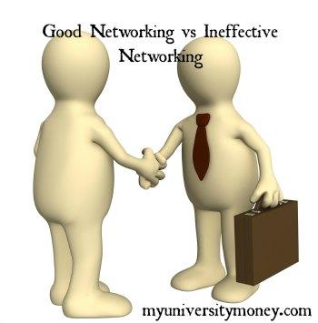 Good Networking vs Ineffective Networking