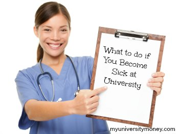 What to do if You Become Sick at University